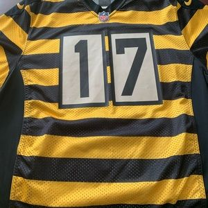 Steelers Bumblebee Jersey - Wallace